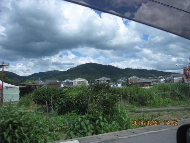 三輪山は美しい姿を見せてくれる。
