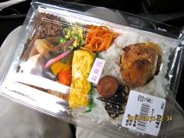 郷土料理、柿の葉寿司を写すべきだったが、忘れた。
