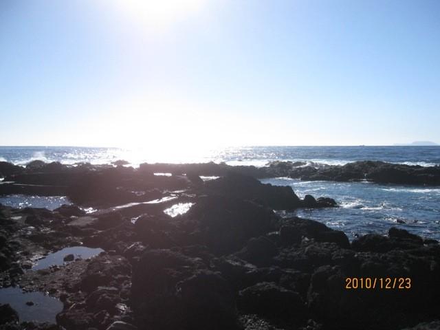 島最南端、