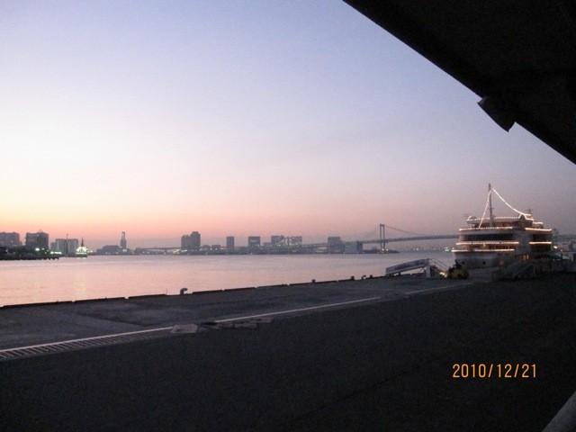 東京湾景。