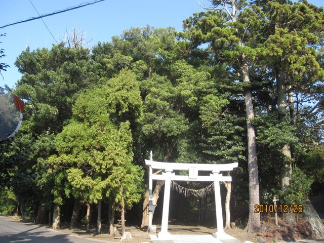 差木地にある、春日神社。