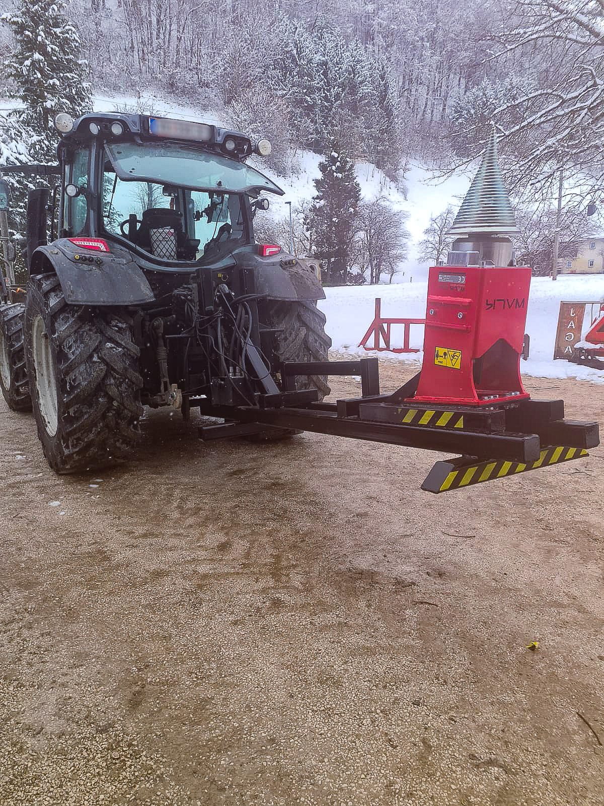 Kegelspalter Traktor Anbau