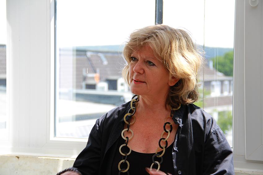 Brigitte Schöpf im Gespräch