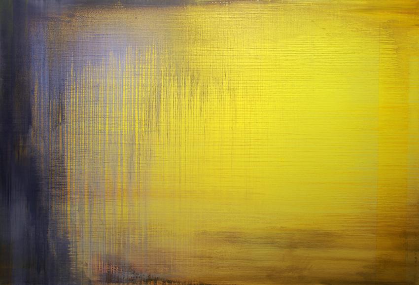 'Fluid 4', 2006,  Öl/Leinwand  195 x 286 x 6 cm
