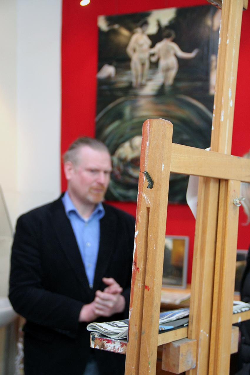 André Kern in seinem  Laden-Atelier