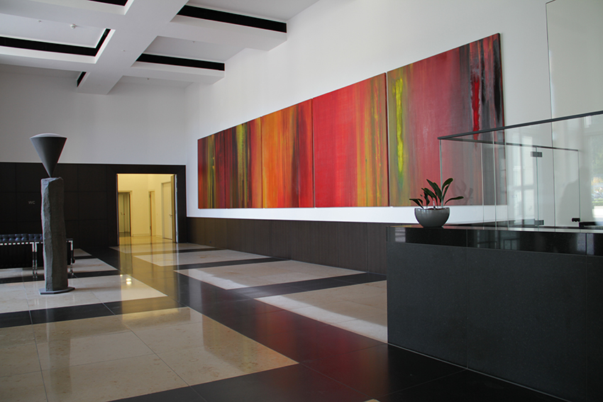 'Appassionata', BARMENIA Versicherungen, Wuppertal, 2,50 x 12,50 m, 2008/2009