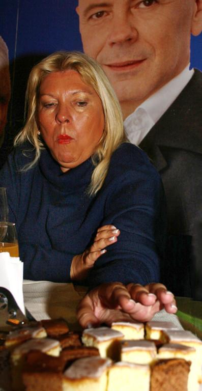 Lilita Carrió candidata Acuerdo Cívico y Social