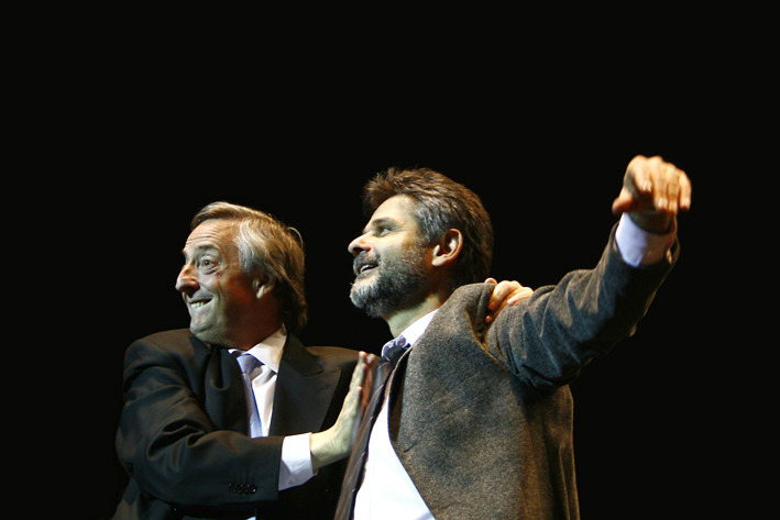 Néstor Kircher Daniel FIlmus cierre de Campaña 2007