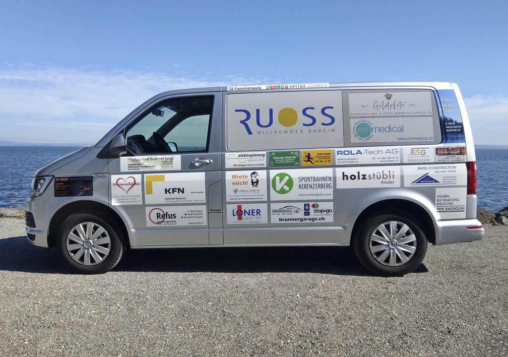 Spitex mobile, Familienfahrzeug, Ruoss Schübelbach