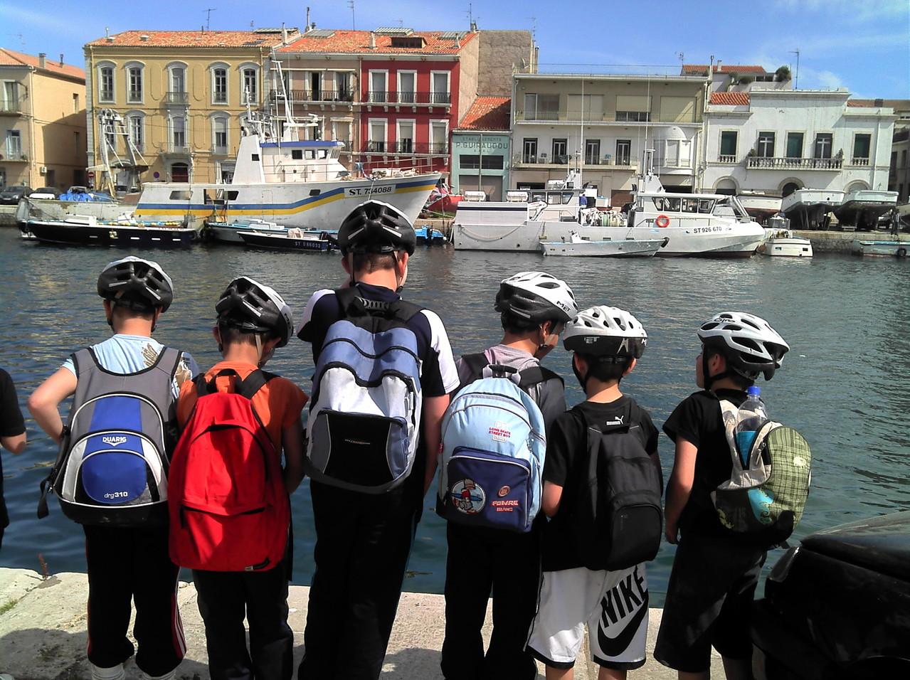 Projet vélo scolaire : Le cycle de l'eau, fleuve, canal, étang,mer...-Ozone