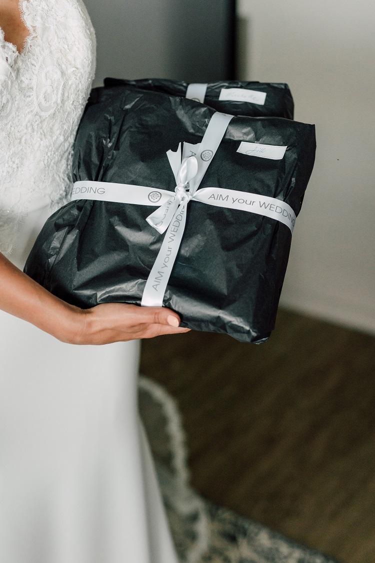 cadeau voor de bruidsmeisjes