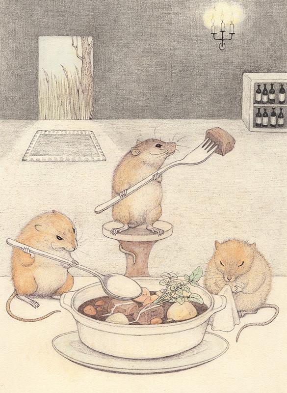 移動式レストラン(ネズミ)