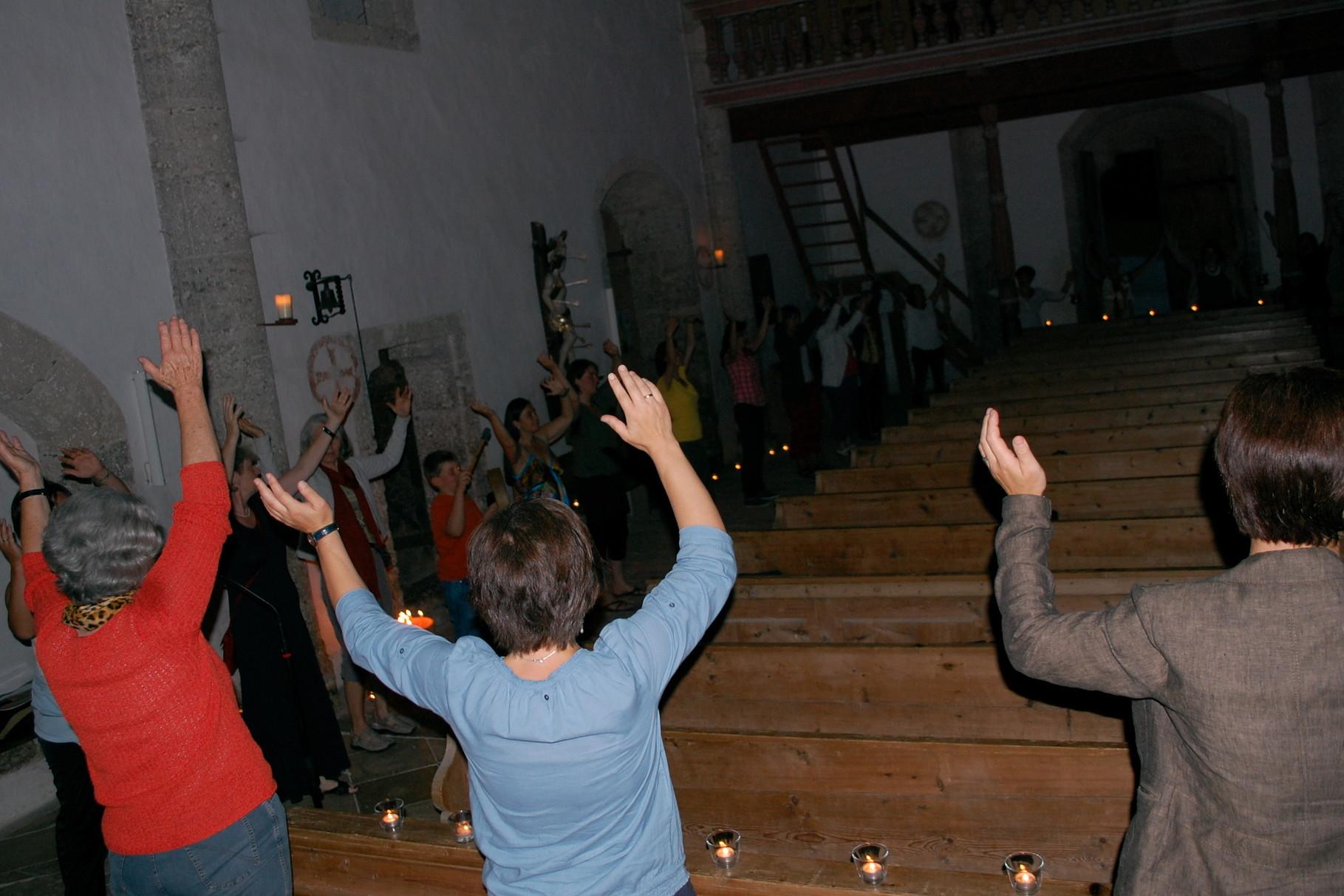 SOG 2012 St. Blasien :: Tanz zum Lied 'Fest verwurzelt in der Erde'