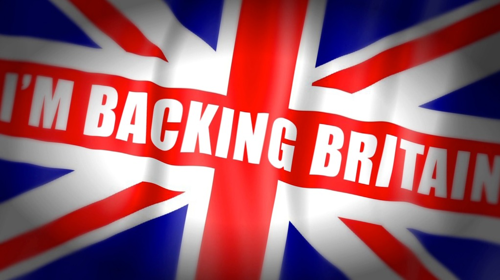 Backing Britain: 2.5D custom flag [Raising Awareness Productions] (FCP, AFX)