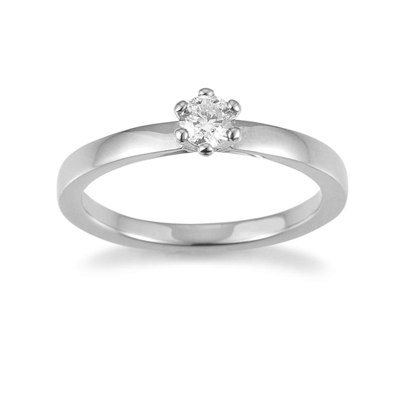 The New York Collection · Ring · Weißgold 585 · Brillant 0,25ct H/SI