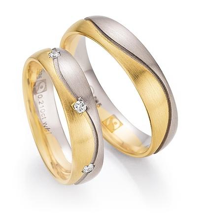 585 Gold Fairtrade - carat-gewicht  0.2100  -- Brillantqualität  W/SI