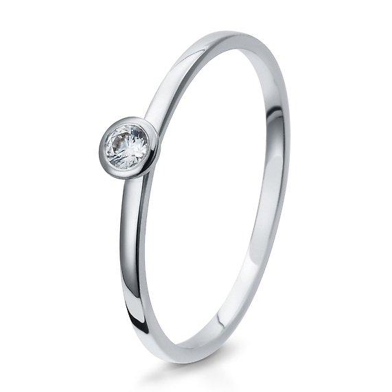 Verlobungsring 925/ooo Silber 0,10 Br41/5290