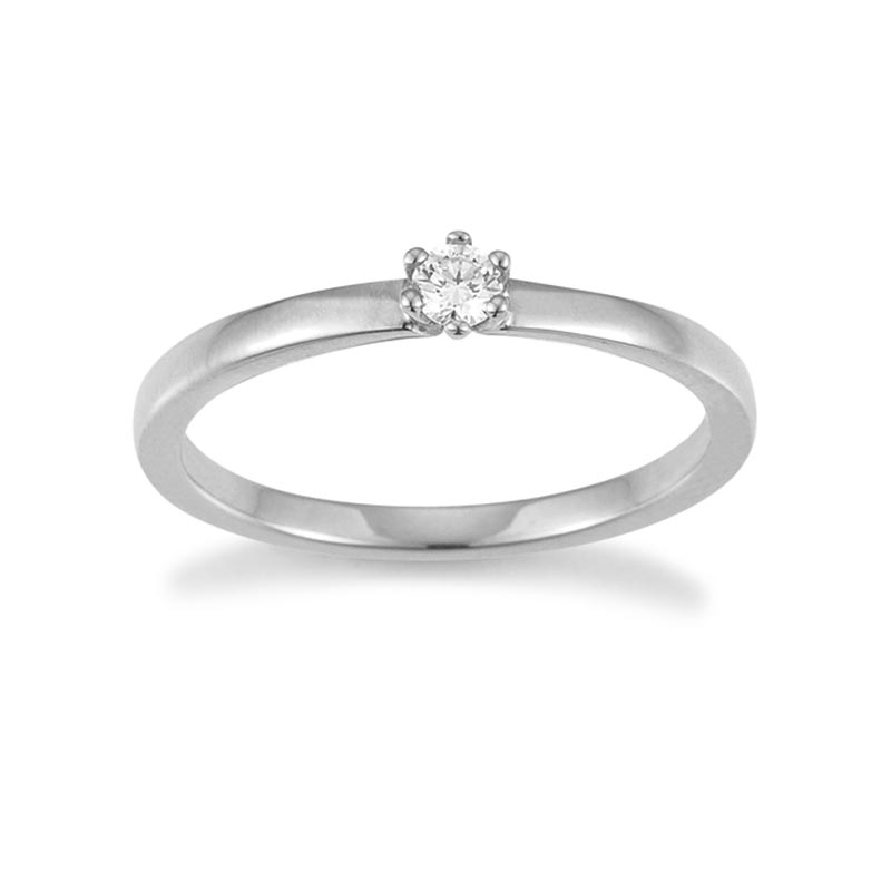 The New York Collection · Ring · Weißgold 585 · Brillant 0,10ct H/SI