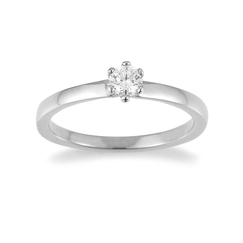 The New York Collection · Ring · Weißgold 585 · Brillant 0,20ct H/SI
