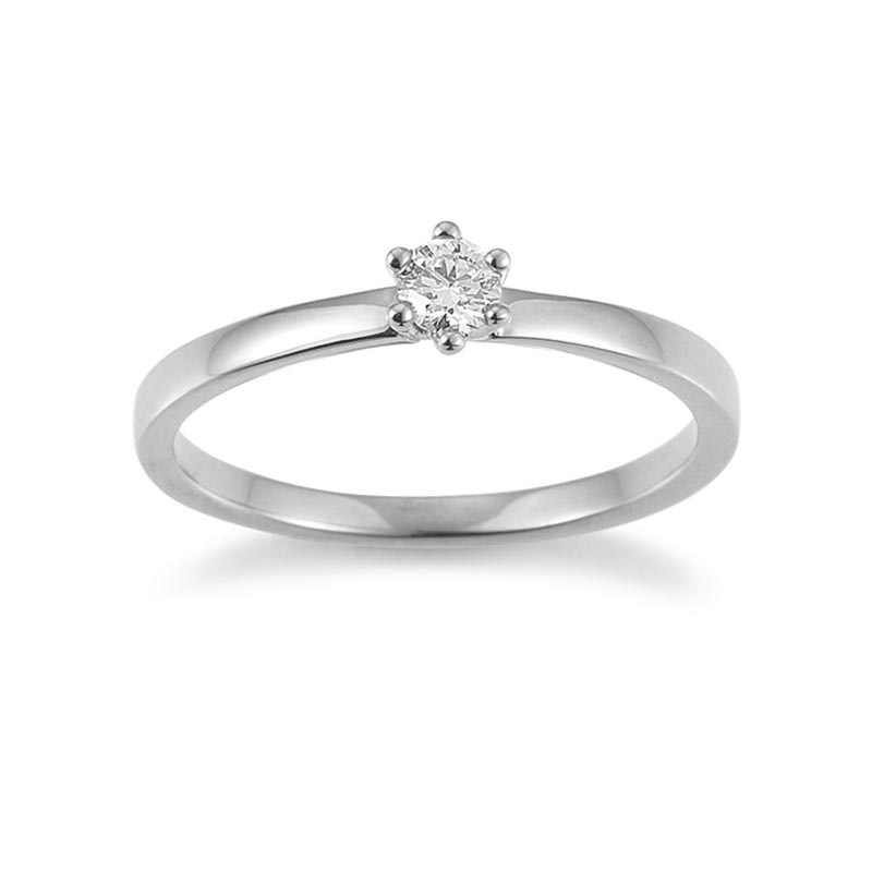 The New York Collection · Ring · Weißgold 585 · Brillant 0,15ct H/SI