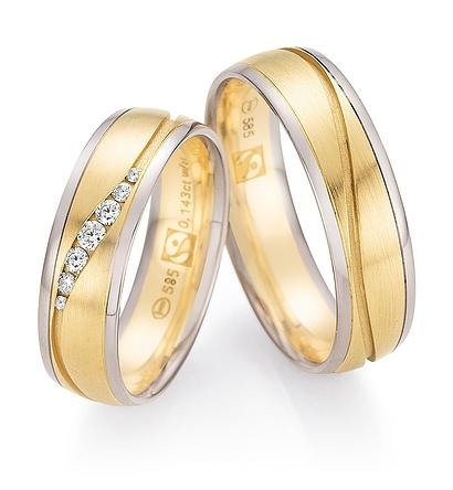 585 Gold Fairtrade - carat-gewicht  0.1430  -- steinqualität  W/SI