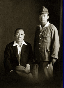 父は特攻が決まり宮崎で祖父と最後の別れをした
