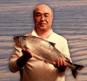 姫鱒釣りの師匠・鳥谷部保さん