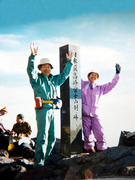 父は高山病で10回目ようやく富士山登頂した