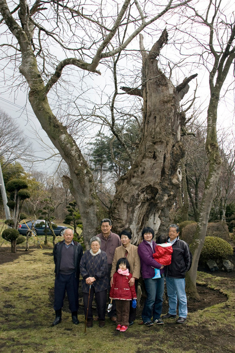平野家の家族