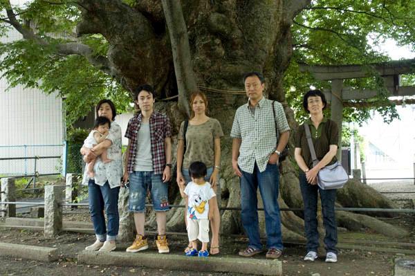 埼玉で「巨木めぐり」弟と息子の家族