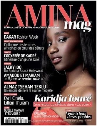 interview du marabout Dia Souaré dans le magazine Amina