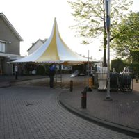 pagodetent braderie zegge