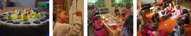 Kindergeburtstagsfeier im Malraum-Rodgau