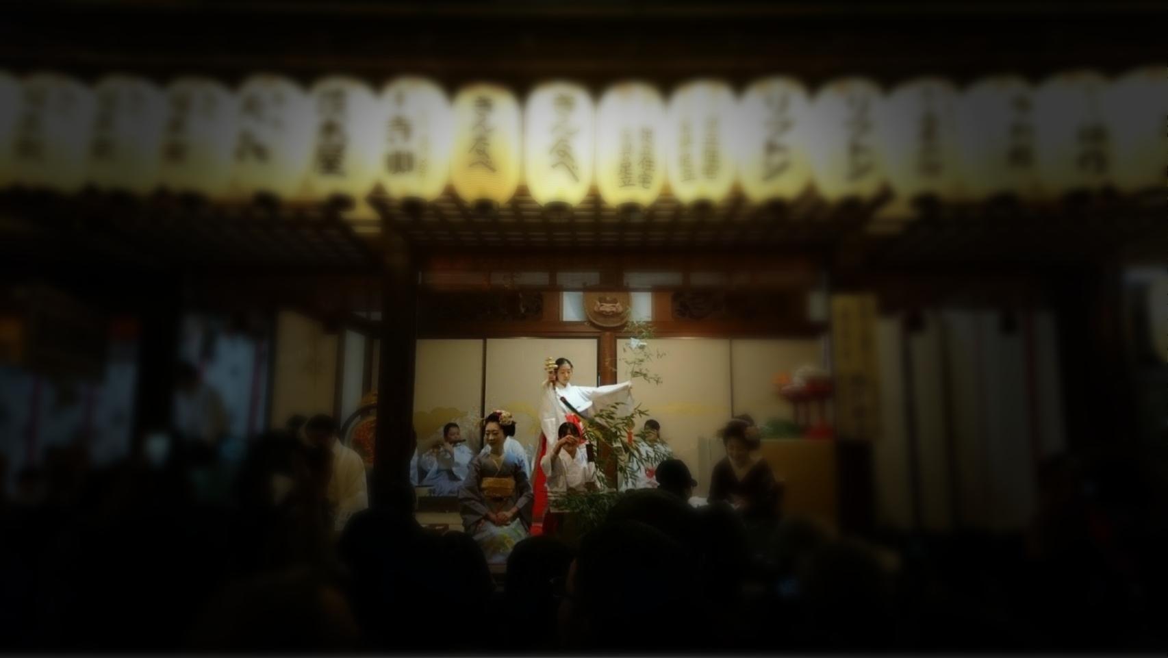 浪速神楽(京都えびす神社)