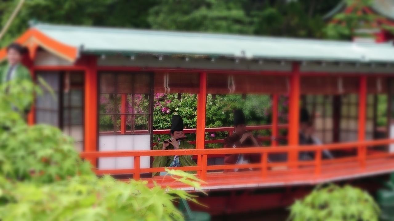 舟楽(神泉苑)