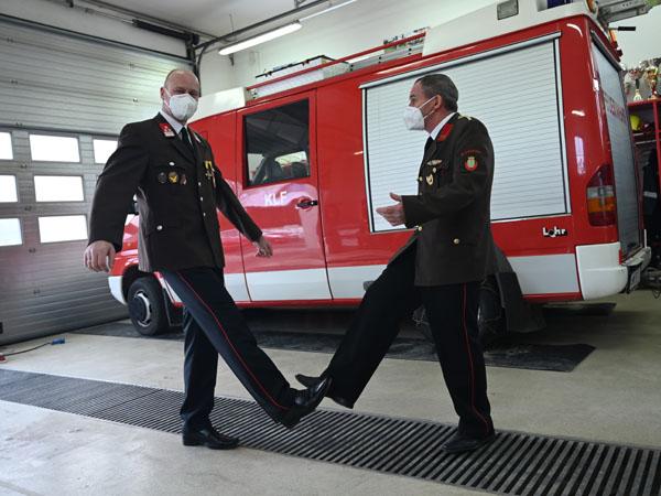 Reinhard Irxenmayer folgt Gottfried Bühringer als Kommandant der Freiwilligen Feuerwehr Krenstetten