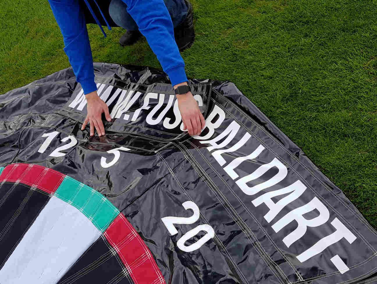 Fußballdart Events Banner