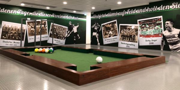 Fußball Billard mieten Hamburg