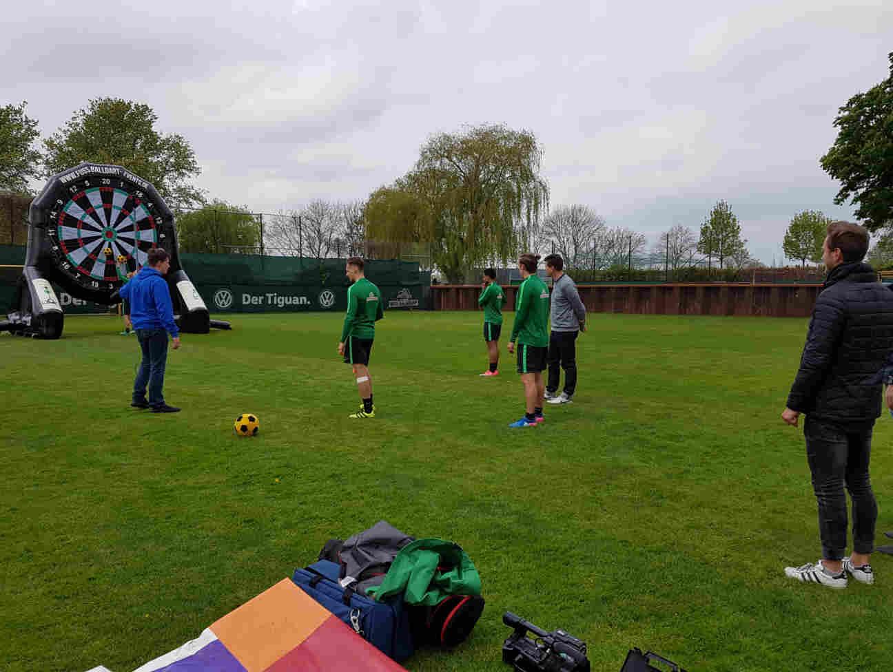 Werder Bremen Fussballdart