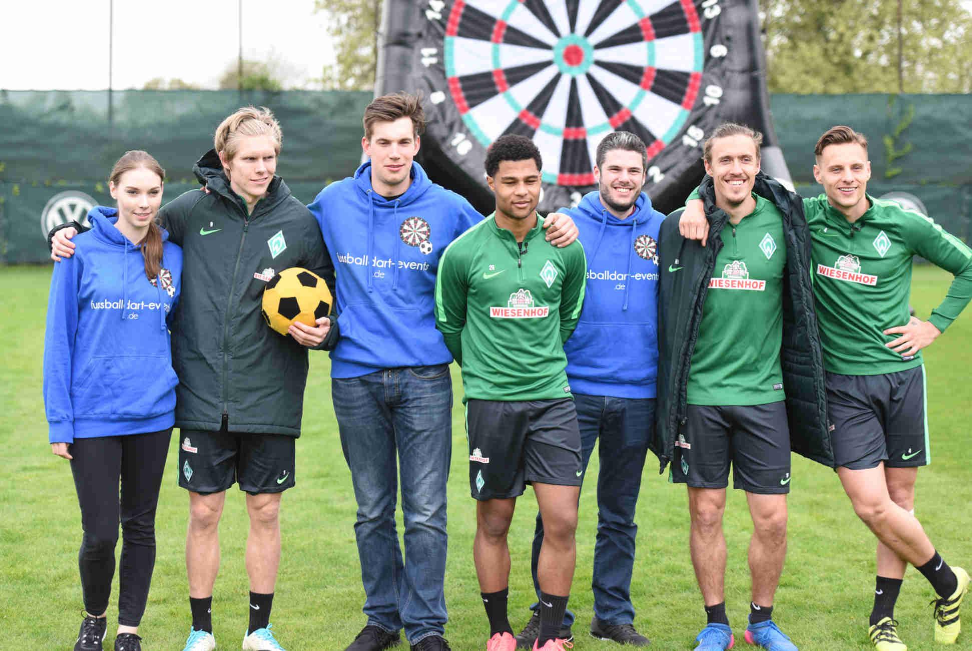 Werder Bremen x Fußballdart Events