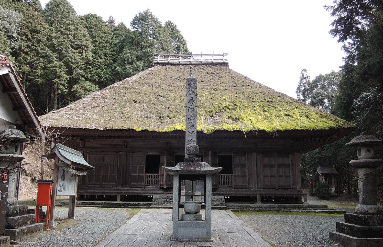 第25番霊場(月輪寺薬師堂)
