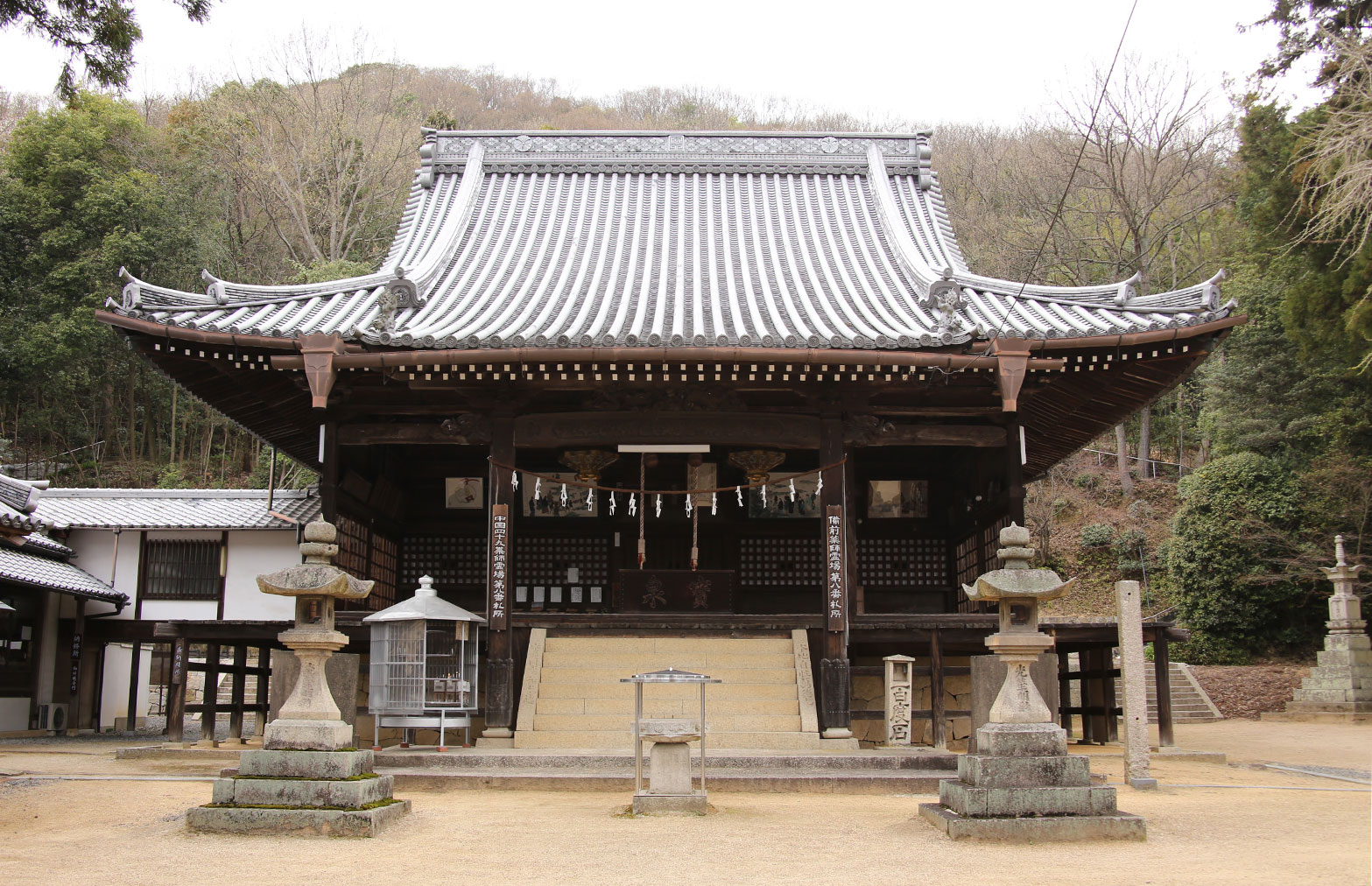 第8番霊場(恩徳寺)