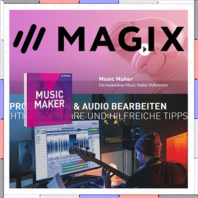 Magix Sofware für musik digitale arbeiten