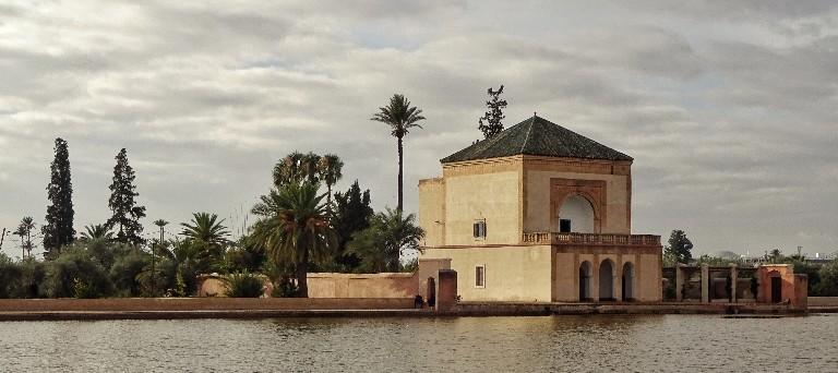 Wasserschloss des Königs im Olivenhain