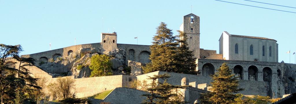 die Festung von Sisteron