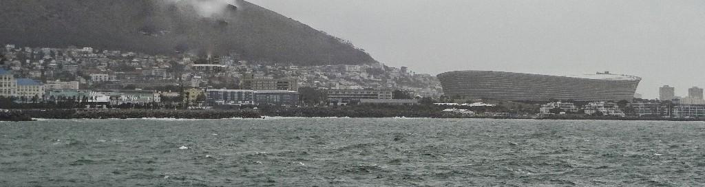 Cap Town mit Fußball Stadion