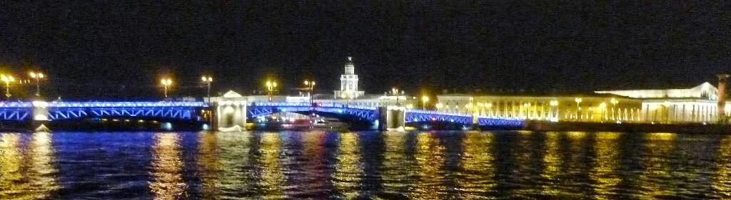 Brücken bei Nacht