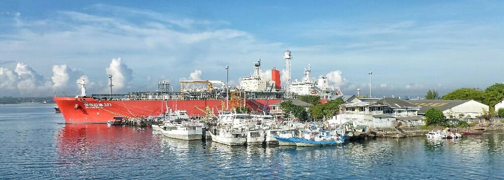 Im Hafen von Benoa