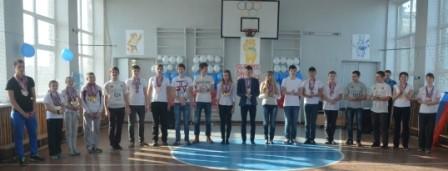 Лучшие спортсмены школы