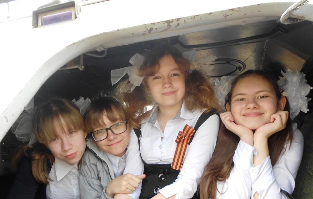 Зиборова Елизавета, Дубовиченко Екатерина, Анциферова Юлия, Ошарина Светлана